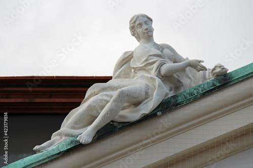 Fotografia, Obraz allegoric or mythologic statue at the lower belvedere in vienna (austria)