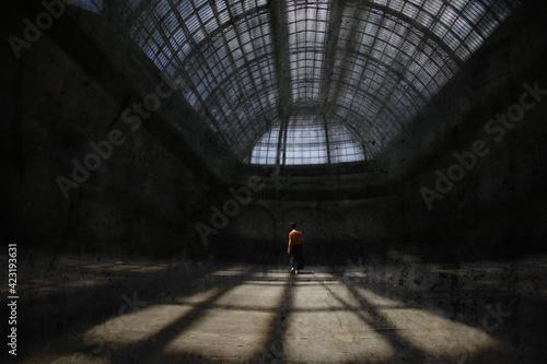 Paris Grand Palais Fototapeta