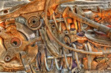 Rusty Engine Background