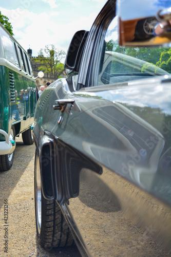 Fotografie, Obraz Lufteinlass bei Ford Mustang Shelby GT 500 Eleanor