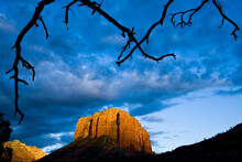 Landscapes Of The Red Rocks In Sedona