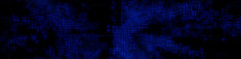 Futuristic, Blue Digital Grid Background. Network Tech Wallpaper Banner. 3D Render