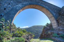 Bridge At Barranco De Arure At La Gomera, Canary Islands, Spain