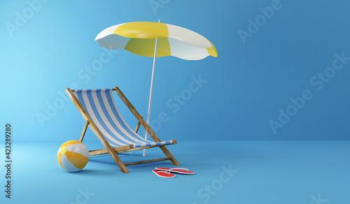 Billede på lærred Summer Concept