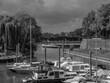 canvas print picture - Die holländische Stadt Zutphen an der Ijssel