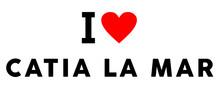 I Love Catia La Mar City