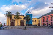 Convent Of San Francisco At Garachico, Tenerife, Canary Islands, Spain