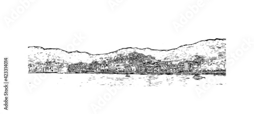 Fotografie, Obraz Building view with landmark of Portofino is the  village in Italy