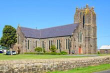 St John's Anglican Church In Port Fairy Was Designed By Nathaniel Billing And Built Of Bluestone Between 1854‐1856 - Port Fairy, Victoria, Australia