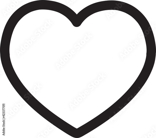Obraz Heart icon - fototapety do salonu