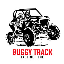 Buggy Car Adventure Vector Illustration, Perfect For Tshirt Design And Buggy Shop And Rental Logo