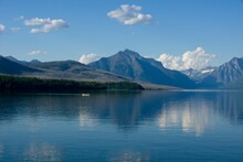 Lake McDonald In Glacier National Park In Montana USA