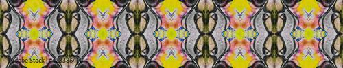Fototapeta Grunge Ethnic Decor. Decorative Seamless obraz