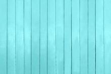 Aquamarine, Turquoise, Blue Boards. Summer, Sparing Background. Pier, Beach, Marine. Copy Space