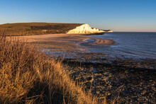 The Seven Sisters And River Cuckmere Estuary In Sussex