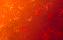 A Fire Style Illustration Graphic With Bright Orange And Red Colors For Lava Or Abstract Holiday Background