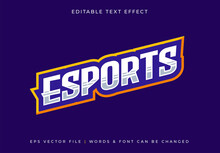 Gaming Esport Text Effect - Editable Text
