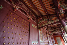 Exterior Of The Confucian Temple Complex In Tainan, Taiwan, Republic Of China, Asiaia