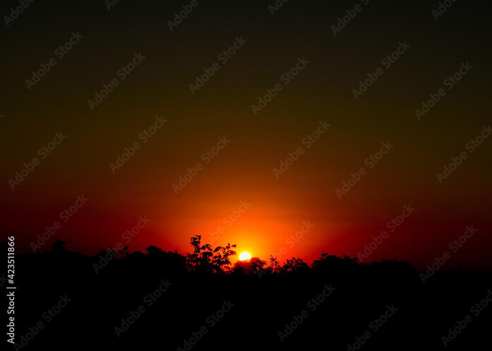 Fototapeta Zachód słońca