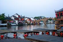 Water Town Zhujiajiao Near Shanghai