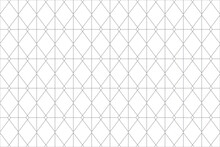 Seamless, Abstract Background Pattern Made With Lines Forming Rhombus Shapes. Modern, Simple And Geometric Vector Art.