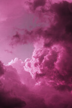 Purple Clouds In The Sky (background)