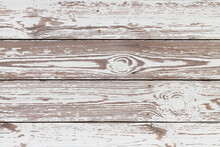 Old Weathered White Wooden Plank Texture