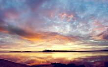 Sun Sky Sunset Atmosphere Clouds Sunrise Star Landscape Sea Ocean Celestial Body Cloud Dusk Water Evening Beach Dawn Orange Travel Horizon Reflection Lighting Summer Mountains Silhouette Sunshine Coas