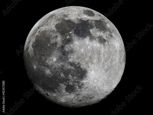 Full moon Fotobehang