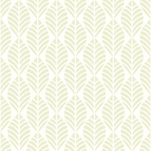 Geometric Leaves Vector Seamless Pattern. Abstract Vector Texture. Beige Leaf Background