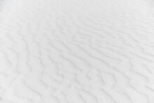 White Rippled Sand At White Sands National Park