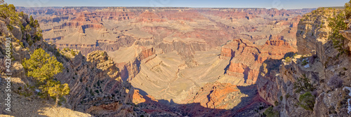 Grand Canyon view between Powell and Hopi Points AZ