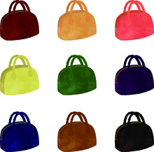 Various Multi-Color Mini Travel Bags