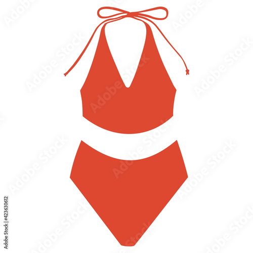 Fotografiet Women's two-piece swimsuit