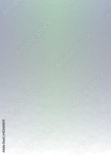 Obraz Abstract color Low-Polygones Generative Art background illustration - fototapety do salonu