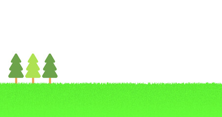 背景画像「草原」