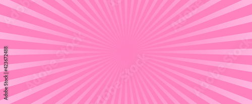 Fotografie, Obraz Abstract pink background vector illustration