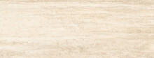 Travertine Italian Texture Of Marble Background With High Resolution, Ivory Emperador Quartzite Marbel Surface, Close Up Glossy Wall Tiles, Polished Limestone Granite Slab Stone Called Travertino