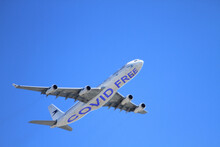 Covid Free Airplane, Totally Covid-free Travel