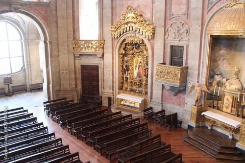 baroque church (clerigos) in porto (portugal)