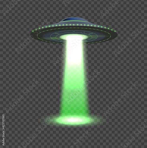 Fotografie, Obraz Aliens spaceship