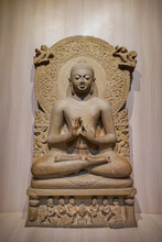 The Buddha Statue Preaching His The First Sermon
