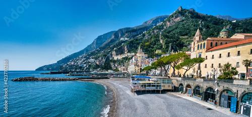 Canvas Print Amalfi Coast - Costiera Amalfitana