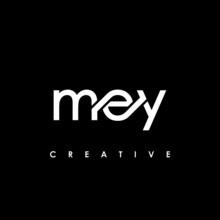 MEY Letter Initial Logo Design Template Vector Illustration