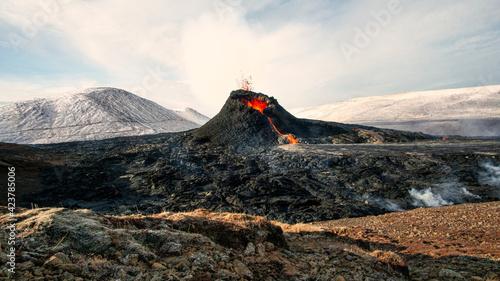 Fotografie, Tablou GELDINGADALUR, ICELAND
