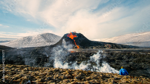 Canvas-taulu GELDINGADALUR, ICELAND