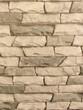 Leinwandbild Motiv stone wall