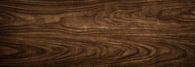 Wood Tree Texture Close Up. Wide Walnut Wood Texture Background. Walnut Veneer Is Used In Luxury Finishes.