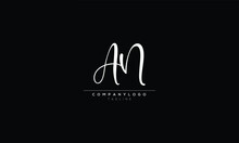 An Na A And N Abstract Initial Monogram Letter Alphabet Logo Design