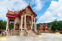 Wat Suwan Khiri Wong Temple Landmark In Phuket.